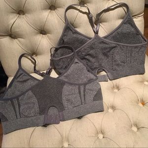 NWOT REEBOK SET OF 2 SPORTS BRAS